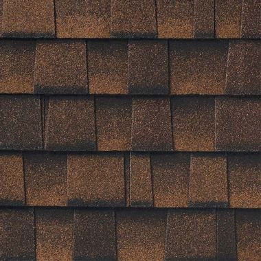 GAF Timberline UHD With Dual Shadow Line Hickory Swatch