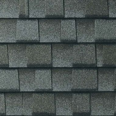GAF Timberline UHD With Dual Shadow Line Pewter Gray Swatch
