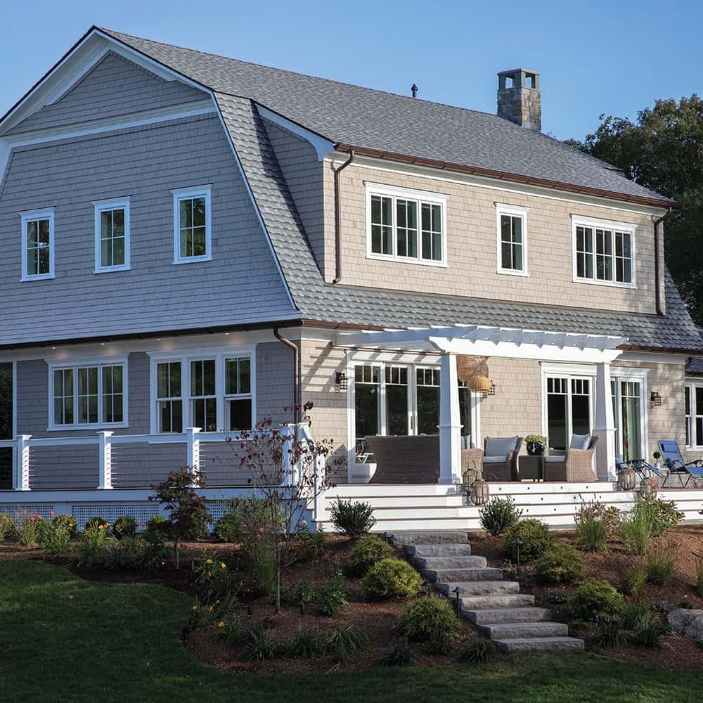 GAF Timberline UHD With Dual Shadow Line Slate House