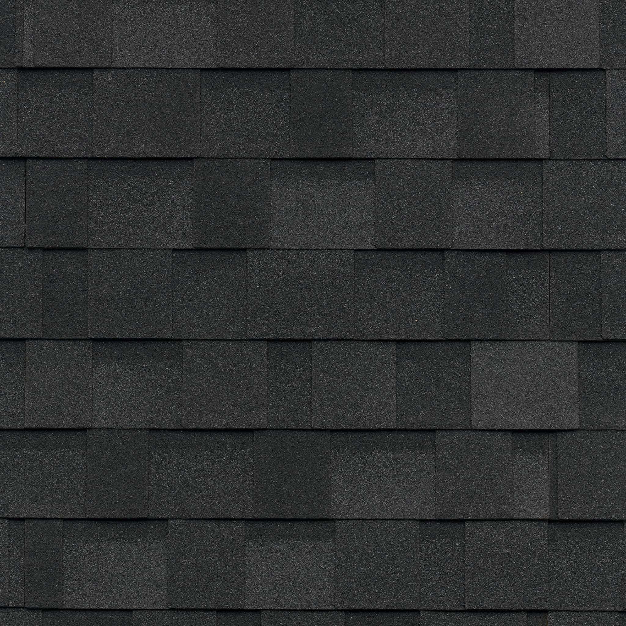 IKO Nordic Granite Black Swatch