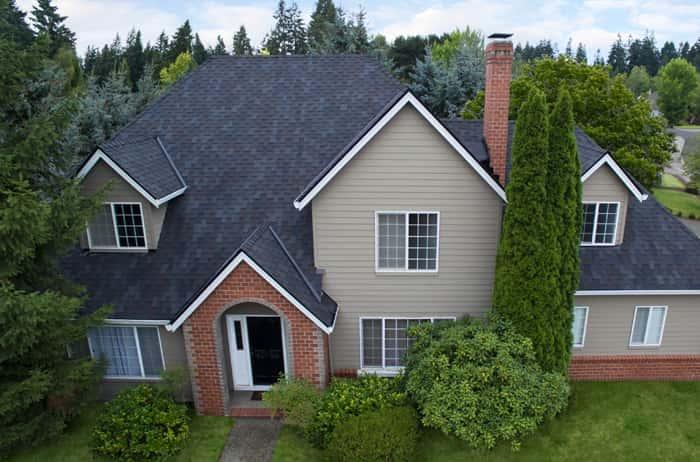 Malarkey Windsor Black Oak House