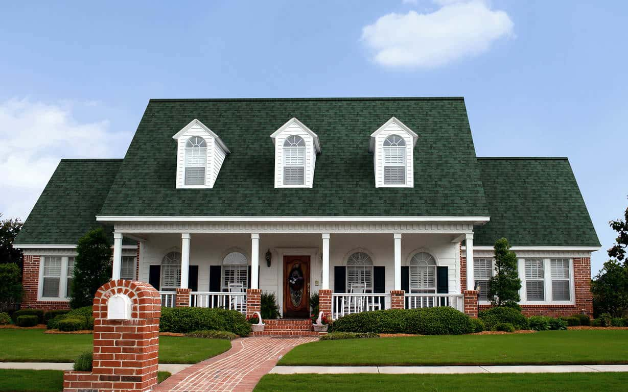 Owens Corning Duration Chateau Green House