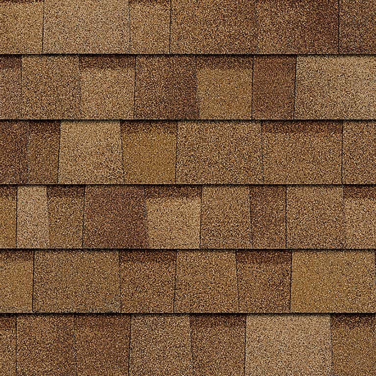 Owens Corning Duration Desert Tan Swatch