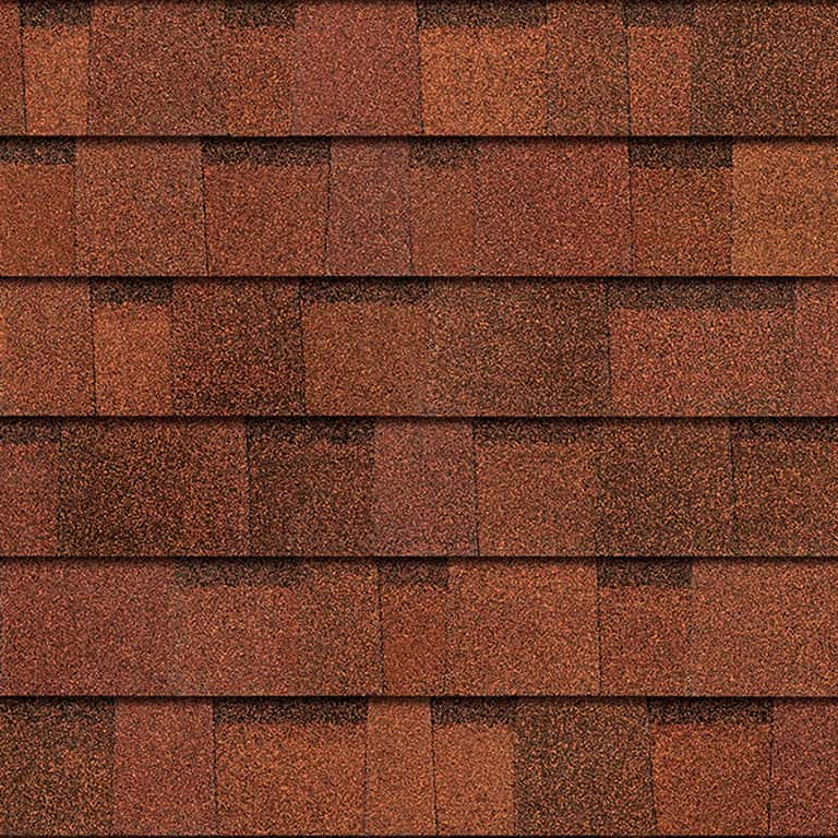 Owens Corning Duration Terra Cotta Swatch