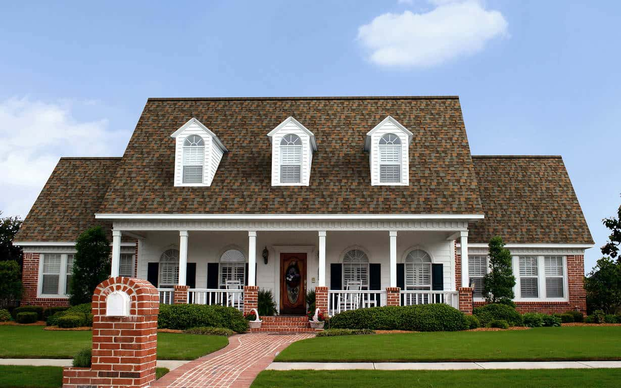 Owens Corning Duration Designer Aged Copper House
