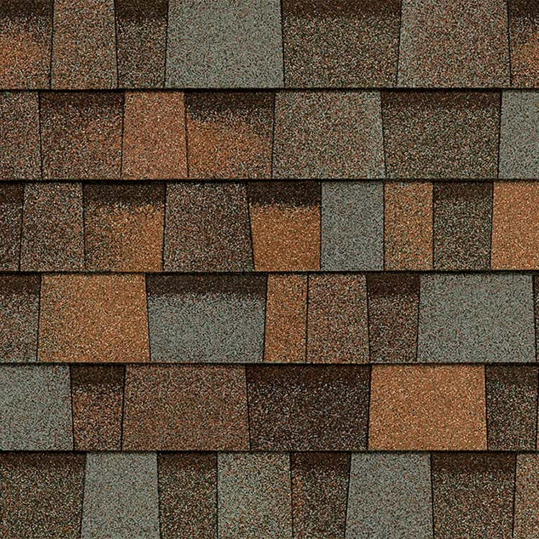 Owens Corning Duration Designer Aged Copper Swatch