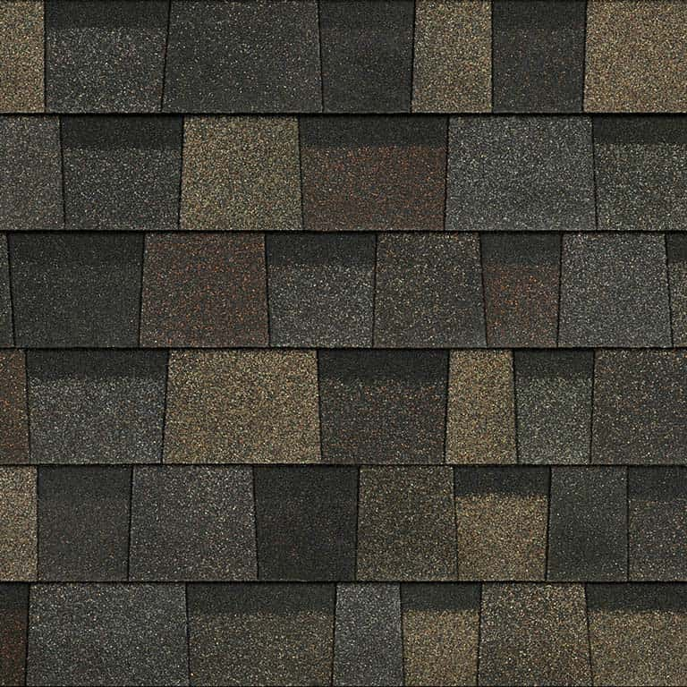 Owens Corning Duration Designer Black Sable Swatch