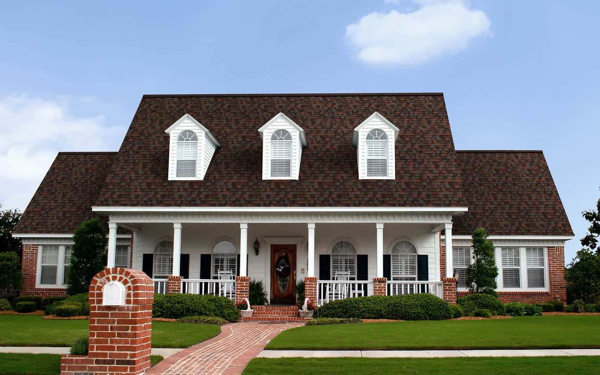 Owens Corning Duration Designer Merlot House