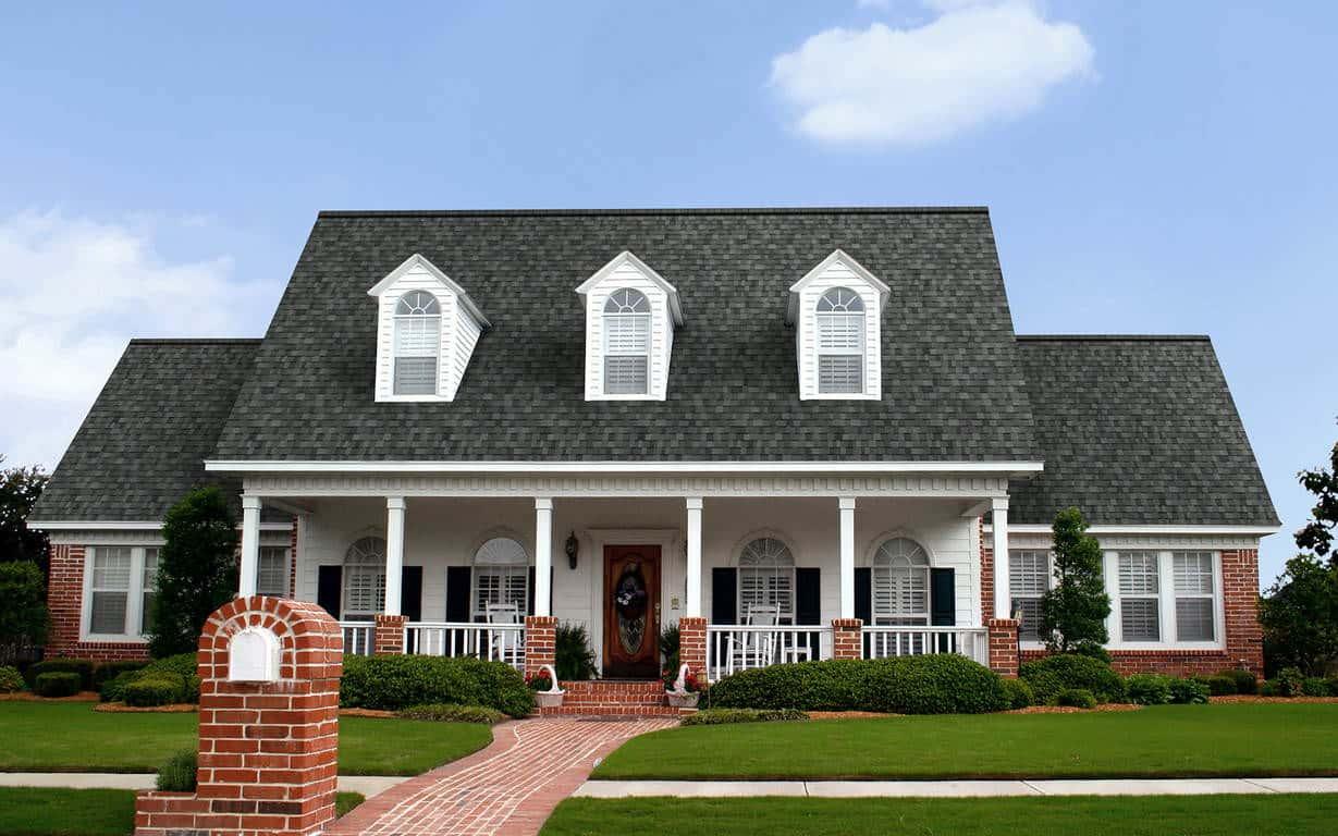 Owens Corning Duration Flex Estate Gray House