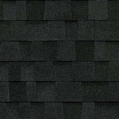 Owens Corning Duration Flex Onyx Black Swatch
