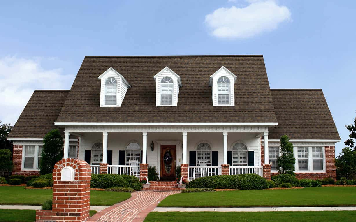 Owens Corning Duration Flex Teak House