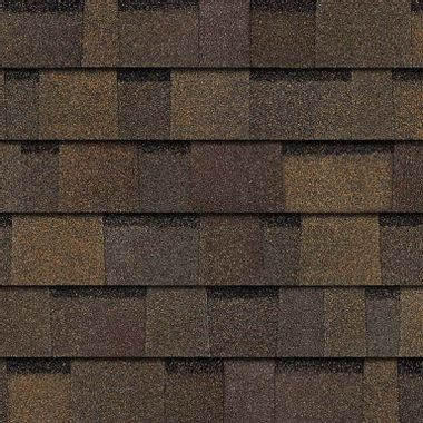 Owens Corning Duration Flex Teak Swatch