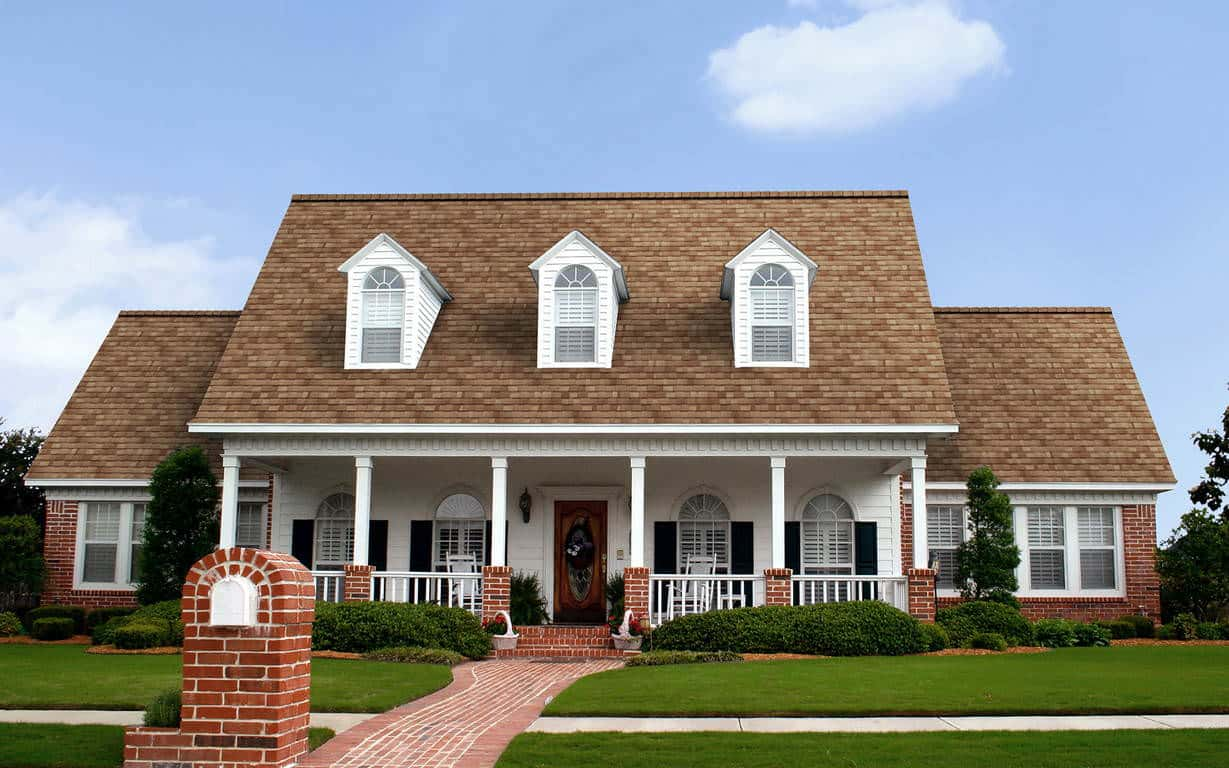 Owens Corning Duration Premium Cool Frosted Oak House