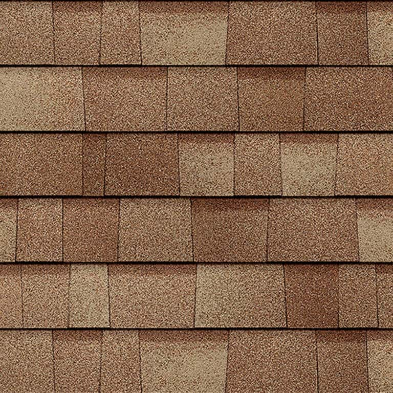 Owens Corning Duration Premium Cool Frosted Oak Swatch