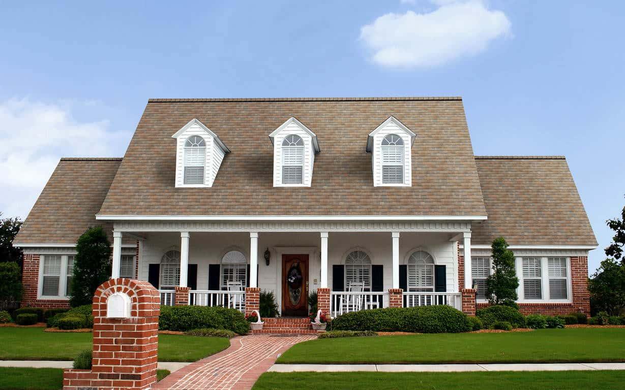 Owens Corning Duration Premium Cool Sunrise House
