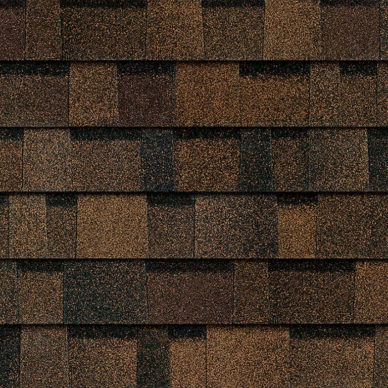 Owens Corning Duration Storm Brownwood Swatch