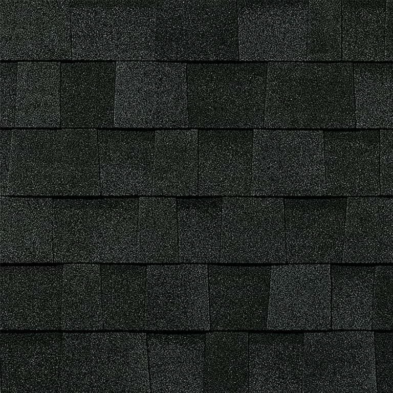 Owens Corning Duration Storm Onyx Black Swatch