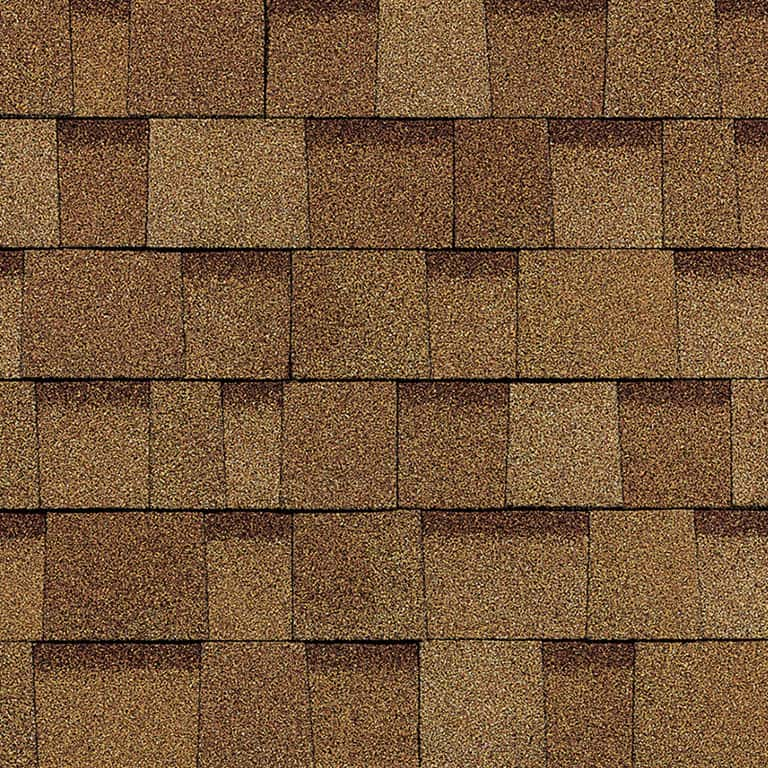 Owens Corning Oakridge Desert Tan Swatch