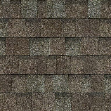Owens Corning Oakridge Driftwood Swatch