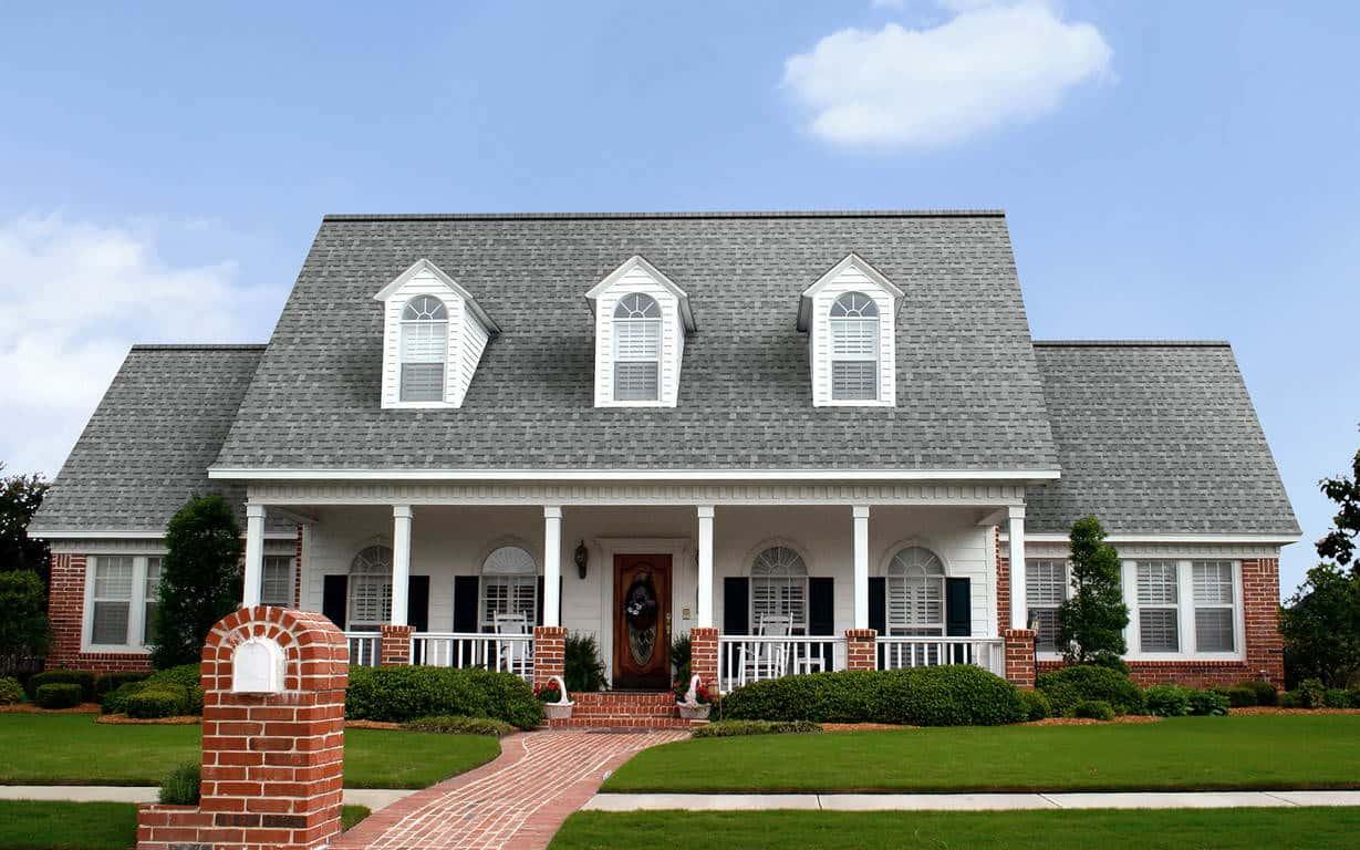 Owens Corning Oakridge Sierra Gray House