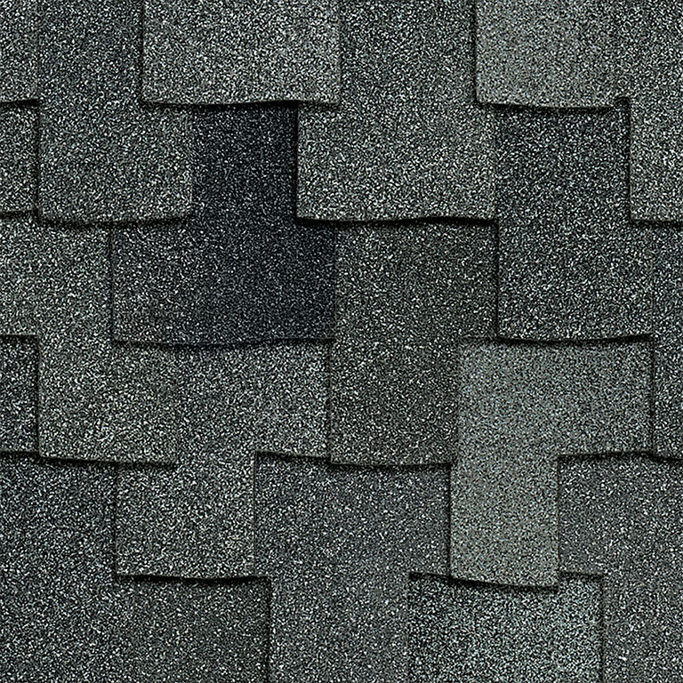 Owens Corning Woodcrest Granite Swatch