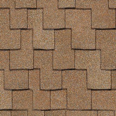 Owens Corning Woodcrest Sand Castle Swatch