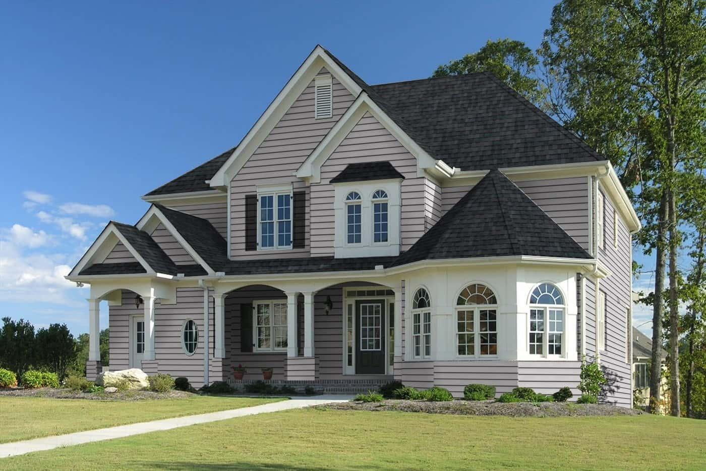 TAMKO Heritage Premium Rustic Black House