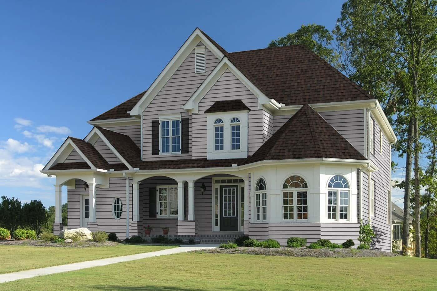TAMKO Heritage Premium Rustic Brown House