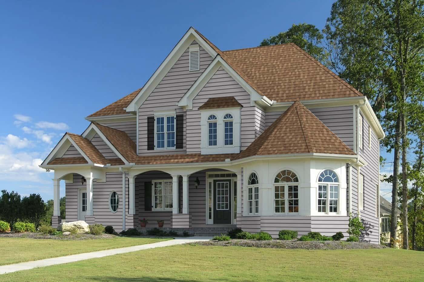 TAMKO Heritage Premium Rustic Cedar House