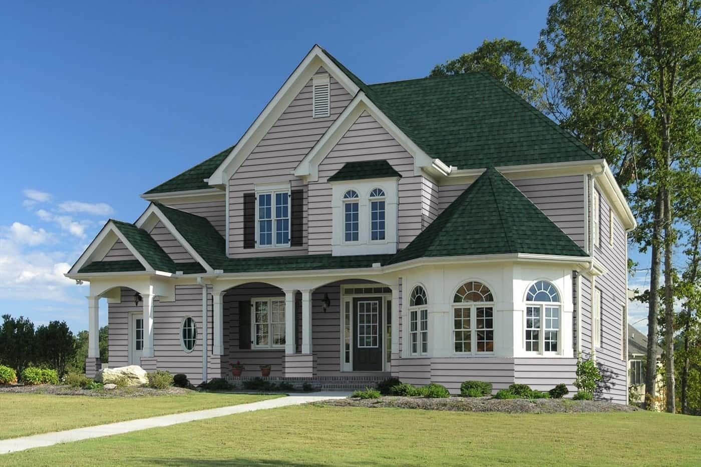 TAMKO Heritage Premium Rustic Evergreen House