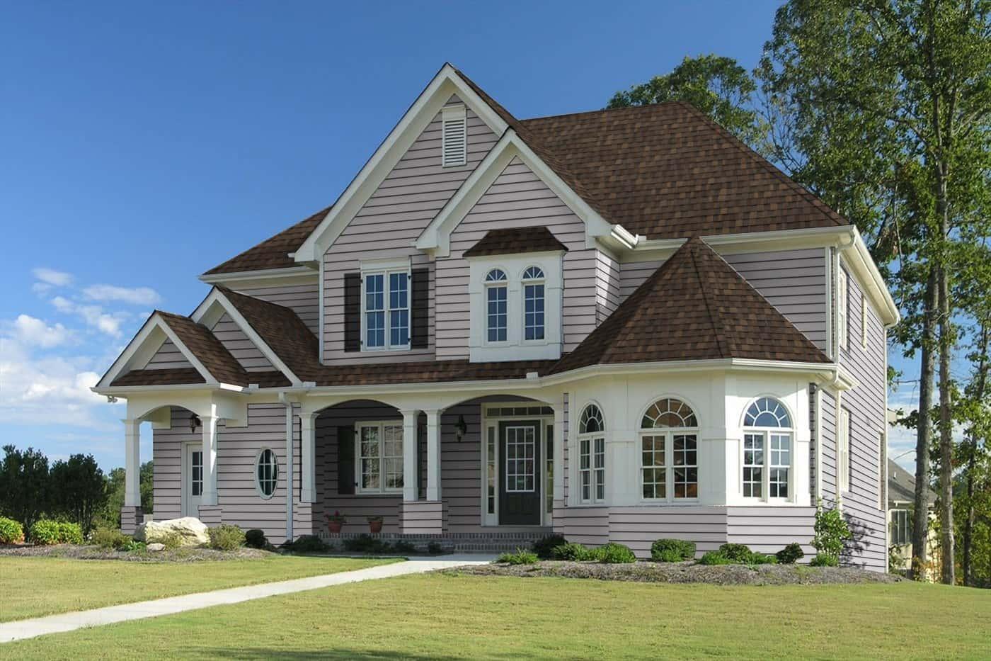 TAMKO Heritage Premium Rustic Slate House
