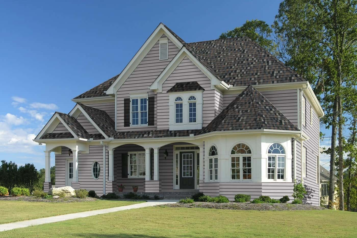 TAMKO Heritage Premium Thunderstorm Grey House