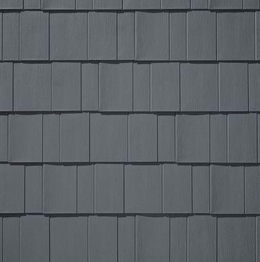TAMKO Metalworks Astonwood Sierra Slate Grey Swatch