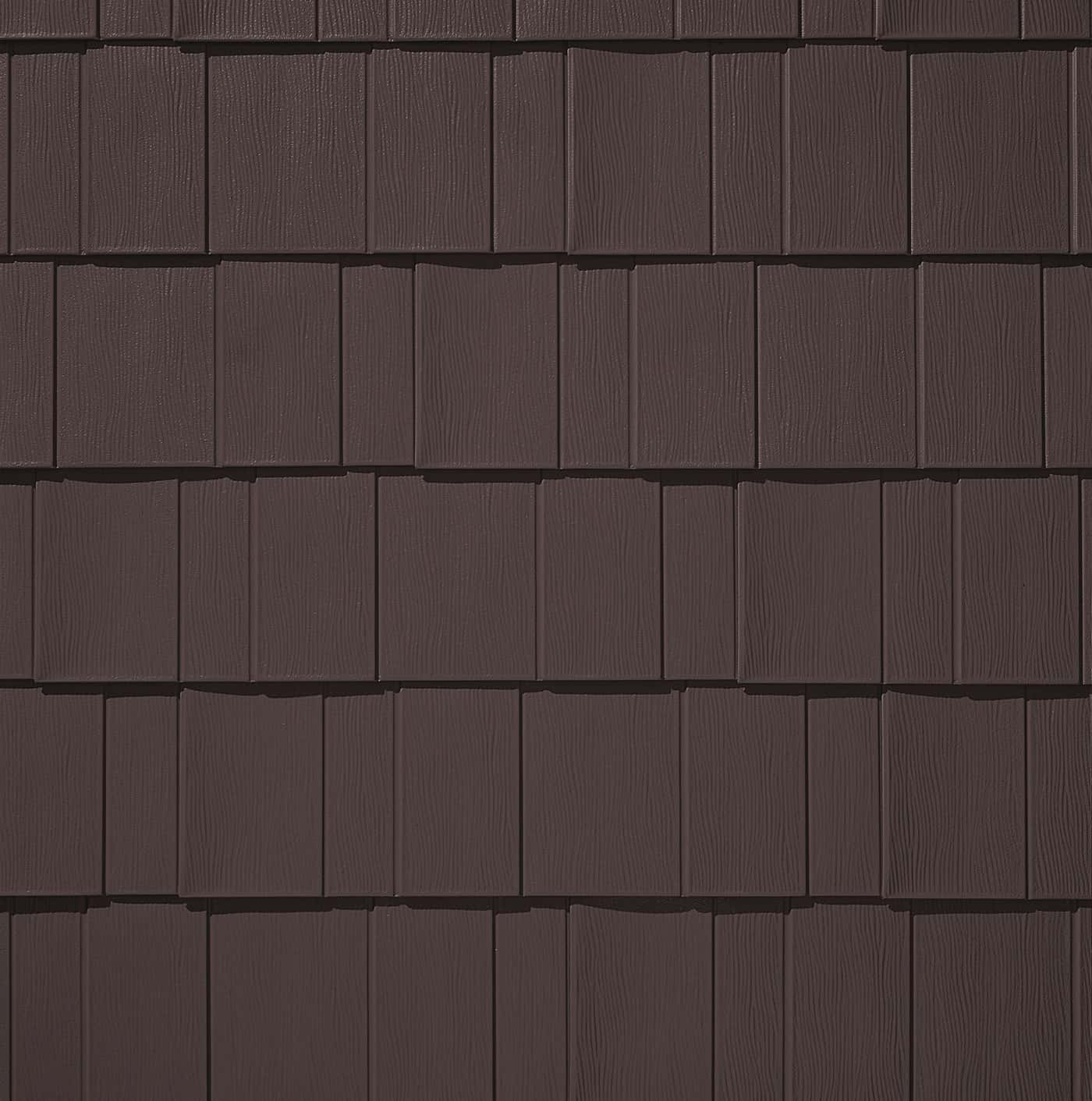 TAMKO Metalworks Astonwood Timber Brown Swatch