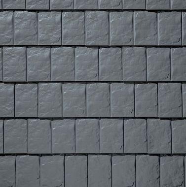 TAMKO Metalworks Stonecrest Slate Sierra Slate Grey Swatch