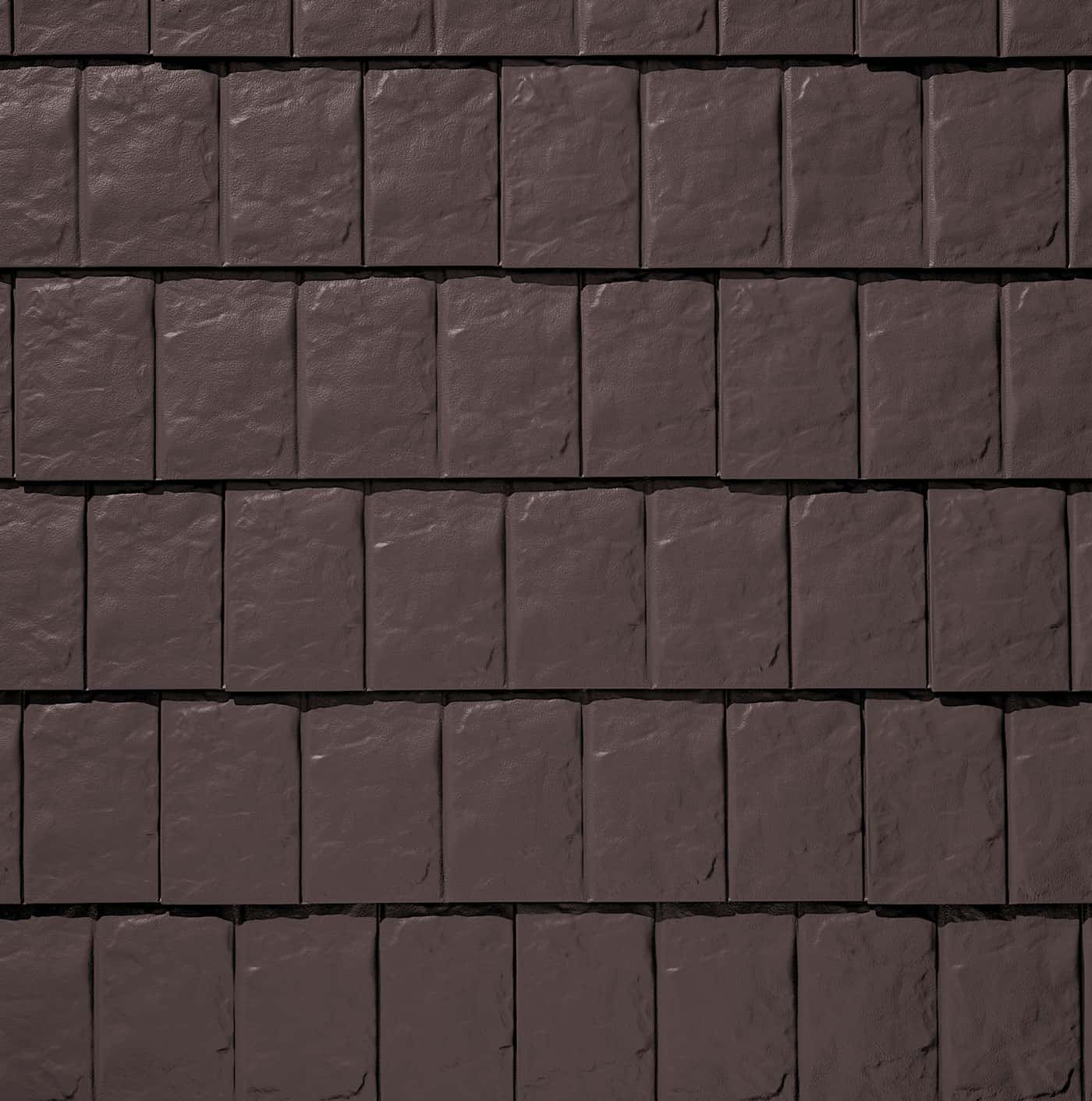TAMKO Metalworks Stonecrest Slate Timber Brown Swatch
