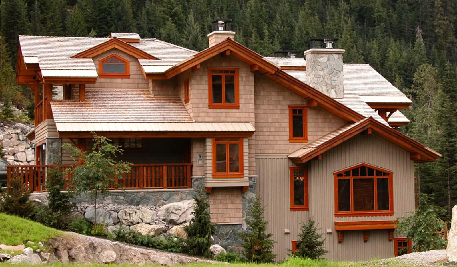 Watkins Sawmills Ltd Cedar Shingles Perfection #1 Grade House